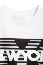 Printed T-shirt - Khaki green/New York -  | H&M CN 3